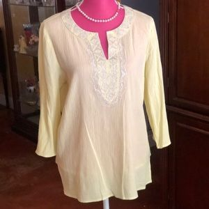 Beautiful Chico's Top size 12